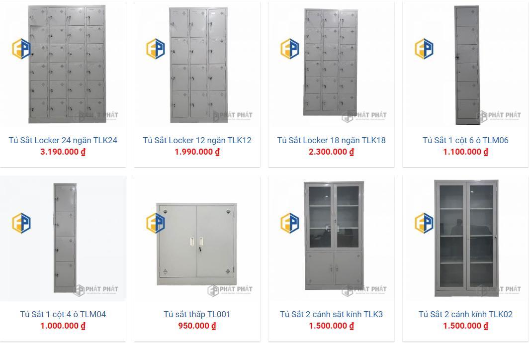 Mua tủ sắt văn phòng giá rẻ Hà Nội, uy tín, sản phẩm đa dạng