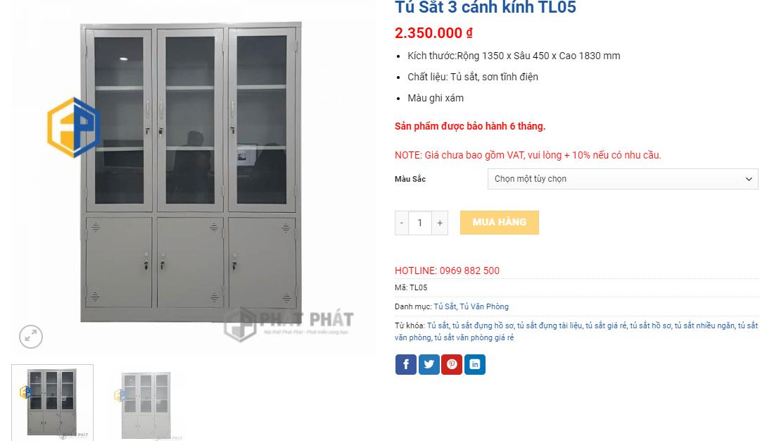 Mua tủ sắt văn phòng giá rẻ Hà Nội, uy tín, sản phẩm đa dạng - 1