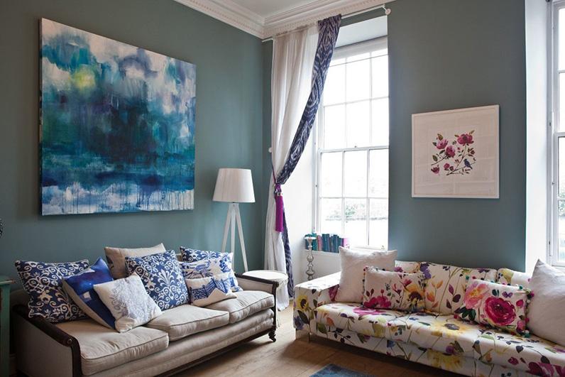 Lựa chọn màu sắc nội thất phù hợp với phong thủy và mệnh tuổi