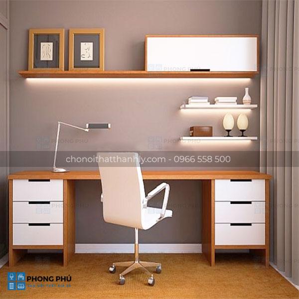 Thiết kế không gian hiện đại với các mẫu bàn làm việc văn phòng đẹp - 1