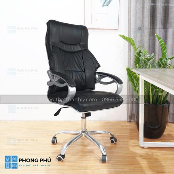 Vì sao nên sử dụng ghế xoay trưởng phòng để làm việc - 1